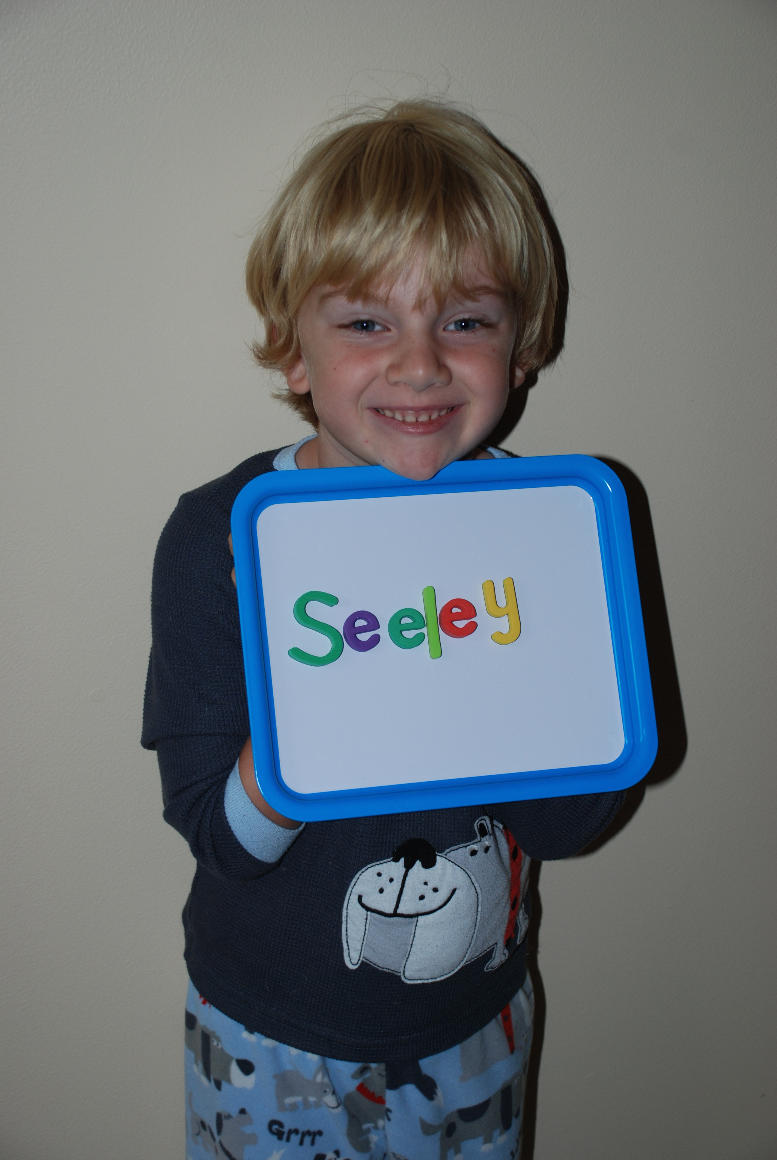 Seeley with Name