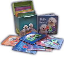 Bella and Rosie ABC books