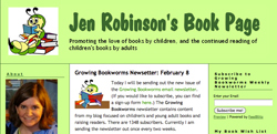 Jen Robinson's Book Page screenshot