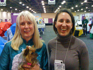 Michele Dufresne and teacher in Columbus 2011