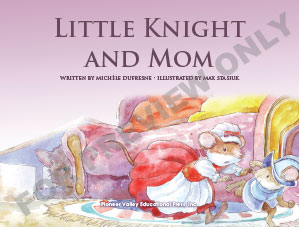 Little Knight and Mom